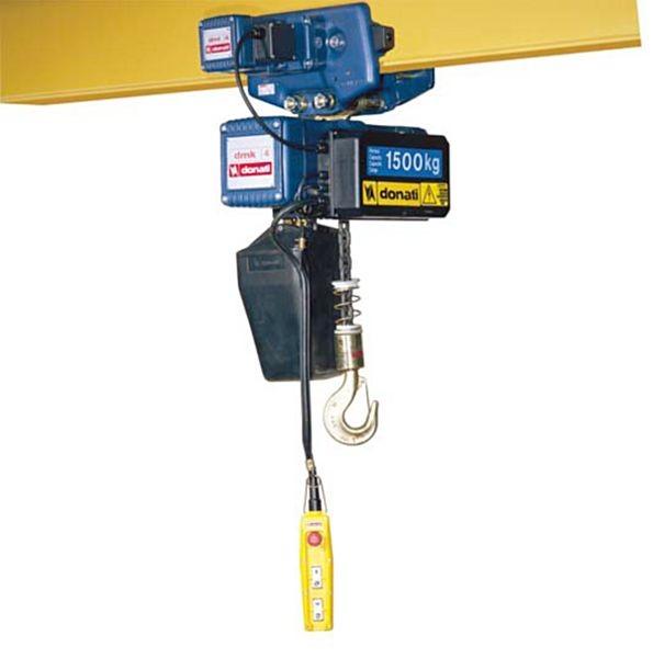 Paranco elettrico a catena for Braccio per paranco elettrico