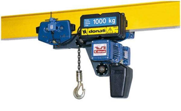 Paranco elettrico a catena for Paranco elettrico con supporto a bandiera