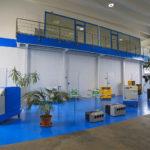 Nuova sala espositiva ALMA blue air